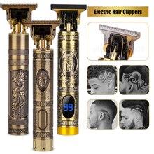 Мужской триммер для волос, профессиональные электрические машинки для стрижки волос, триммер для бороды, Парикмахерская машина для стрижки...