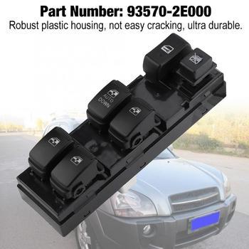 Кнопка управления стеклоподъемником для Hyundai Tucson 2004, 2005, 2006, 2007, 2008, 2009, 2010, 93570 2E000 Переключатели и рычаги для авто      АлиЭкспресс