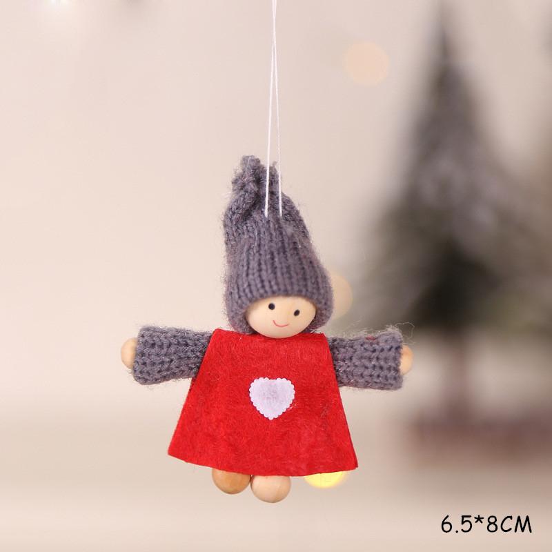 2020 New Year Gift Cute Christmas Angel Doll Xmas Tree Ornament Noel Deco Christmas Decoration for Home Natal Navidad 2019 Decor 52