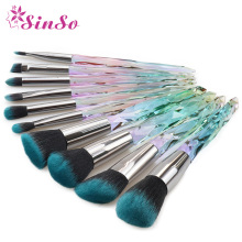 SinSo 5/10pcs Kabuki Makeup Brushes Set Professional Foundation Powder Eye Shadow Eyebrow Beauty Cosmetic Makeup Brush Kit Tools