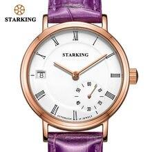 Starking женские механические часы с сапфировым кристаллом водонепроницаемые