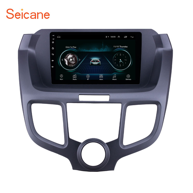 Seicane Android 8.1 9 inch 2.5D screen Car GPS Navigation Radio for 2004 2008 Honda Odyssey with AUX support Carplay SWC DAB+|Car Multimedia Player| |  - title=