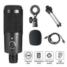 Usb микрофон для подкастов профессиональный компьютерный 192