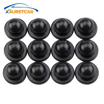 Xburstcar for Peugeot 206 207 301 307 308 407 408 508 2008 3008 4008 Car Door Lock Screw Protector Cover Stickers image