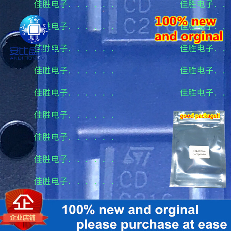 30pcs 100% New And Orginal SMLVT3V3 DO214AA Silk-screen CD In Stock