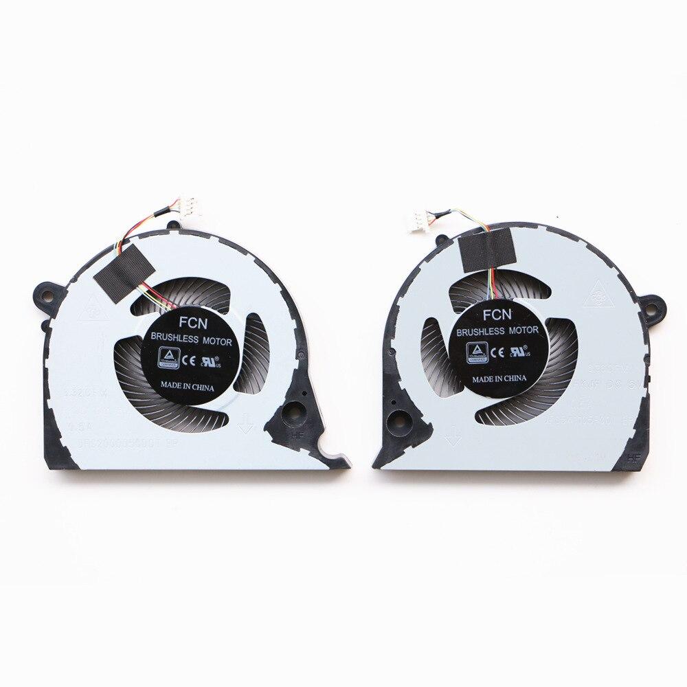 Ventilador de refrigeração da cpu do portátil para dell G7-7577 G7-7588 p72f G5-5587 ventilador de refrigeração da cpu
