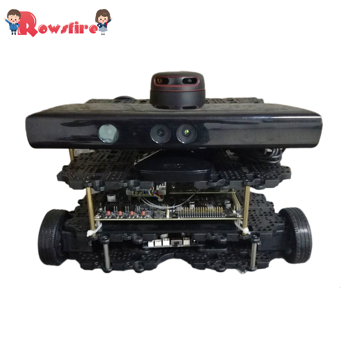 DIY High Quality Waffle Version Robot Operating System Autopilot Robot Car Open Source Kit