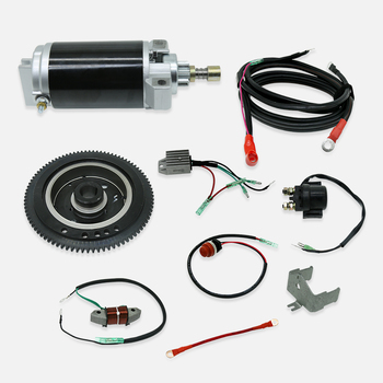 цена на Outborad Motor Accessories  Engine Parts Change To Electrical Starting for Outboard Motor