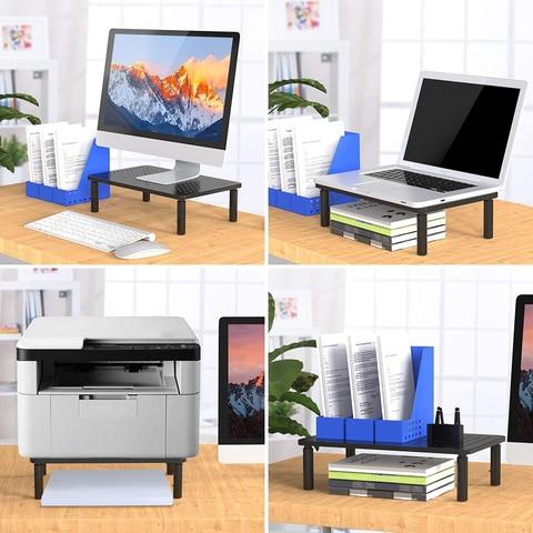 levantamento portatil riser monitor duplo workstation notebook mesa para escritorio casa
