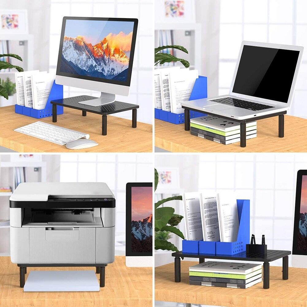 levantamento portátil riser monitor duplo workstation notebook mesa para escritório em casa