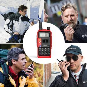 Image 4 - 2021 BaoFeng UV S9 Plus 10W/8W Portable talkie walkie 20km longue portée jambon Radio émetteur récepteur de baofeng uv 5r Radio bidirectionnelle