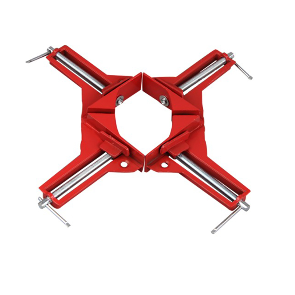 1 PCS Rugged 90 Degree Right Angle Clamp DIY Corner Clamps Quick Fixed Fishtank Glass Wood Picture Frame Woodwork Right Angle
