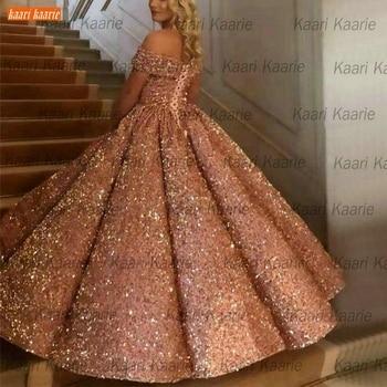 Dubai Lace Up Sequined Wedding Dresses 2020 Sweetheart Luxury Wedding Gowns Arabic Custom Made Bridal Dress Long Robe De Mariee