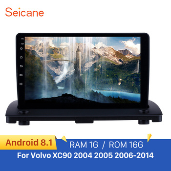 Seicane Android 9.1 car Radio Car GPS Multimedia Player for Volvo XC90 2004 2005 2006-2014 9 Navigation WIFI SWC Mirror link image