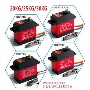 1 X Waterproof servo 20KG 25KG 30 KG and high speed metal gear digital servo baja servo for 1/8 1/10 Scale RC Cars(China)