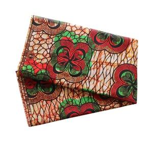 Image 5 - Africa Ankara Stampa Patchwork Tessuto Reale Della Cera Tissu African Materiale Da Cucire per il Vestito FAI DA TE Accessorio Pagne 100% Cotone