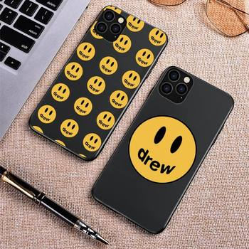 Justin Bieber drew house Phone Case for iPhone 8 7 6 6S Plus X SE 2020 XR 11 12 Pro mini pro XS MAX Silicone Case image