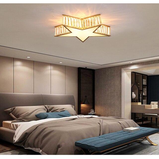 Фото новая бронзовая креативная постсовременная хрустальная лампа цена
