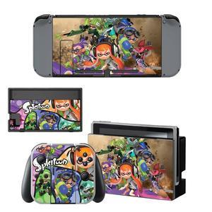 Image 5 - Game Splatoon 2 Nintendoswitch Huid Nintend Schakelaar Stickers Voor Nintendo Switch Console Vreugde Con Controller Dock Skins Stickers