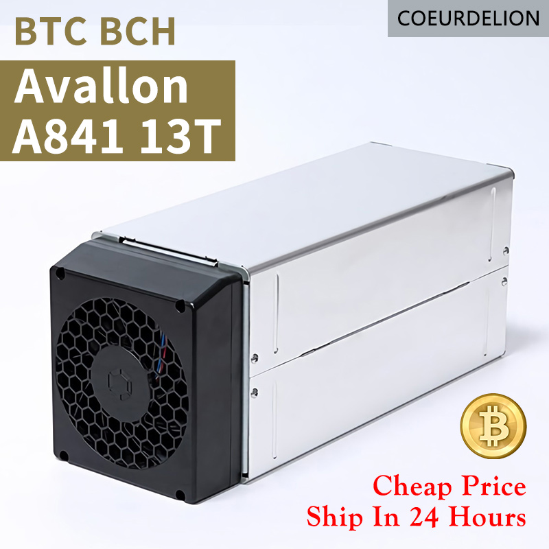 Used ASIC BTC BCH AvalonMiner A851  50% New Bitcoin Miner 14.5Th Mining SHA-256 Algorithm 14.5Th/ For a Spower Consumption 1450W 1