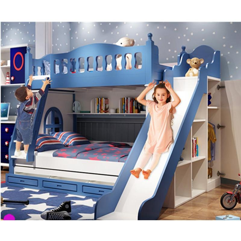Children Bedroom Furniture Modern Bunk Bed Children Bed Bedroom