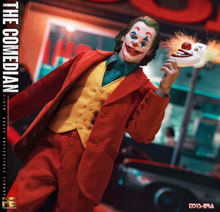 "TOYS ERA PE004 1//6 The Comedian Joker Jacques 12/"" Collectible Figure Body Hands"