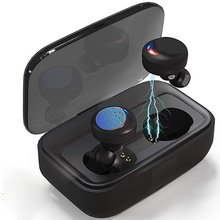 Waterproof Wireless Bluetooth 5.0 Touch Control Earphone Mini Twins Stereo Sports Swimming Headphone 3000mAh Charging Box
