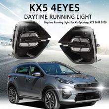 Phares antibrouillard pour Kia sportage, pour modèles KX5, LED, 2019, 2020, 2019, 2020, DRL