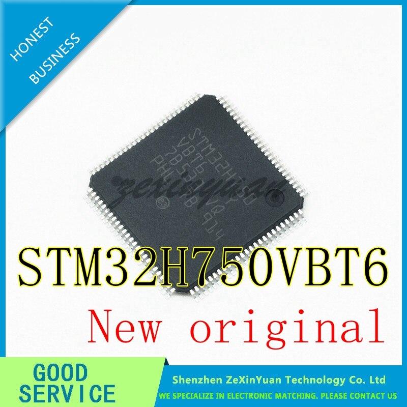 100% New Original STM32H750VBT6 STM32H750 VBT6 LQFP-100 IC