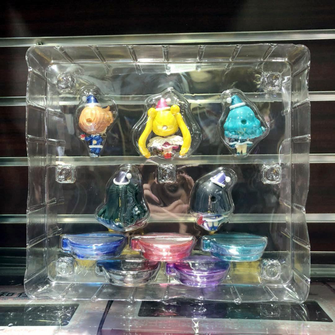 Yaya Anime External Solar System Warrior Series Christmas 1 S 5-Pretty Girl Warrior Capsule Toy Decoration