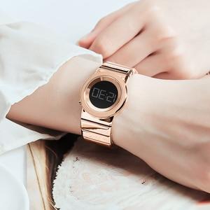 Image 5 - 2020 Kademan Mode Vrouwen Luxe Rvs Quartz Horloges Dames Business Horloge Japanse Quartz Relogio Feminino
