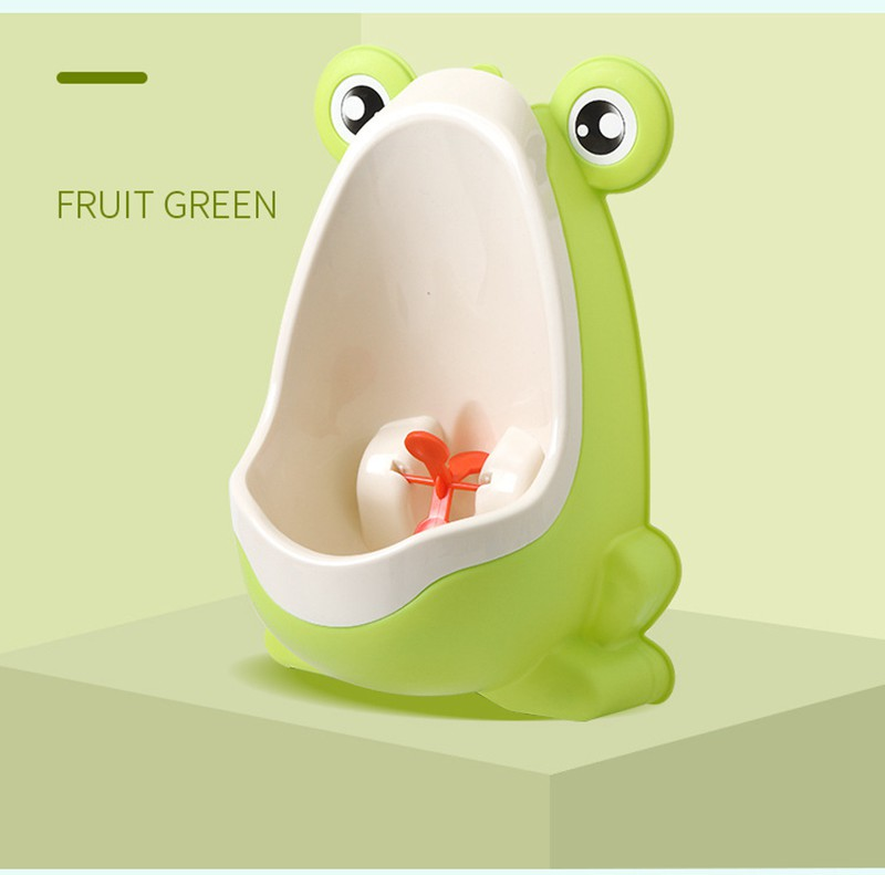 MOTOHOOD  Potty Toilet Urinal Pee Trainer Wall-Mounted Toilet Pee Trainer Children Baby Boy Bathroom Frog Urinal Kids Boys toile (1)