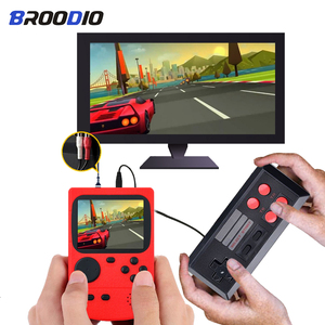 Video Game Consoles 8 Bit Retro TV Video Game Console Built-In 500 Games Portable Pocket Game Mini Handheld Player For Kids Gift