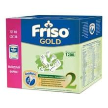 Смесь сухая молочная Friso Gold 2, с 6 до 12 мес., 1200 г