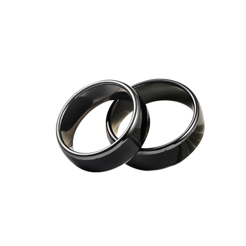 T5577 или сменных маркеров UID чип переписать 125 кГц или 13,56 МГц RFID керамики Smart палец B кольцо одежда для Для мужчин или Для женщин Для мужчин