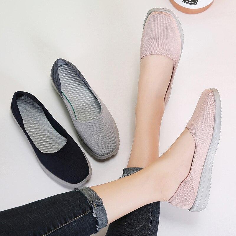 Image 5 - STQ/Женская тканая обувь на плоской подошве; Женские лоферы на плоской подошве; Мокасины без шнуровки на плоской подошве для тенниса; Кроссовки; 7758Обувь без каблука   -