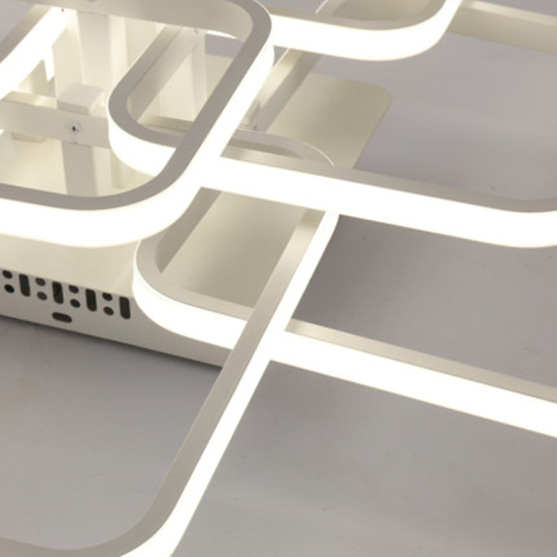 nordic acrilico remoto cotrol luzes de teto 04