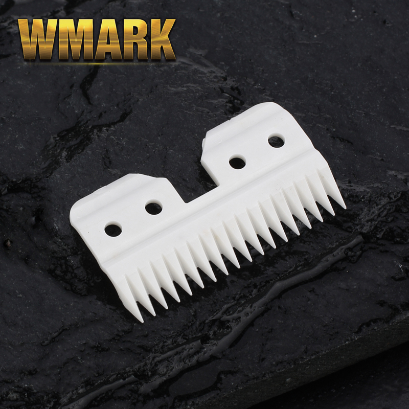 Ceramic Pet Clipper Movable Blade Good Sharpness For Oster A5 Grooming Clippers  18Teeth With Plastic Box