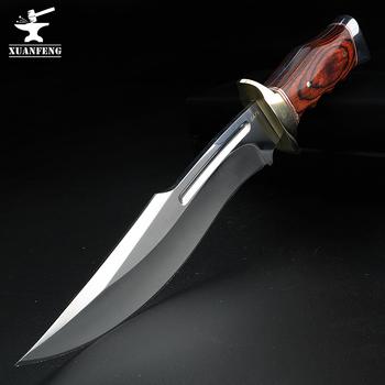 Nóż obozowy camping polowanie samoobrony krótki nóż nóż prosty nóż survivalowy wysokiej twardości nóż wojskowy emerytowany nóż tanie i dobre opinie XUAN FENG Obróbka metali Drewna Stopu tytanu Fixed blade knife