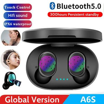 New A6S Wireless Earphone for Air dots Earbuds Bluetooth 5.0 TWS Headsets Noise Reduction MIC Universal for iPhone Xiaomi Redmi