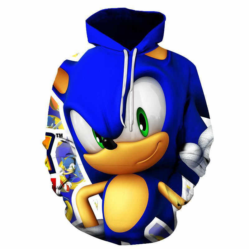 New Arrival Anime Sonic The Hedgehog 3d Printed Hooded Sweatshirts Men Women Fashion Casual Pullover Funny Streetwear Hoodies Aliexpress