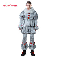 Horror Killer Joker Men Cosplay Costume the Dancing Clown Costume for Halloween