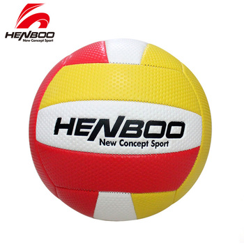 HENBOO Volleyball Ball Indoor Outdoor Inflatable Wear Resistant Ball Applicable To Training Match Volleyball Men Women Adult volleyball women s world championship 2018 semifinals match for 5th place