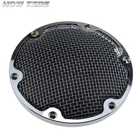 CHROME MESH DERBY COVER 2004 2018 for XL SPORTSTER 883 1200