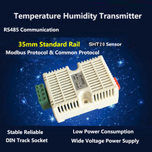 Modbus RTU RS485 SHT20 Temperature Humidity Transmitter Sensor Acquisition Module Transducer High Precision Distance 1000 Meters image
