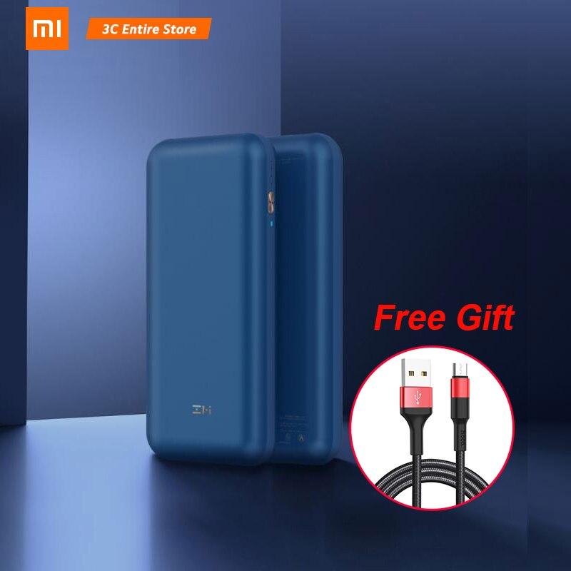 2019 Новый Xiaomi ZMI power bank PRO 20000 mAh быстрая зарядка NO.10 Pro QB823 65W 20000 mAh power Bank для iPhone iPad notebook