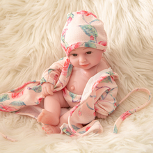 цена на Reborn Baby Dolls vinyl body girl boy Boneca bebe Reborn Toys for Children 10'' Lifelike simulation Dolls Realistic mold gift