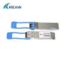 Hilink transceptor óptico, 2 peças, qsfp + 40g, er4, 30km, lc, smf, gbgbic, dom