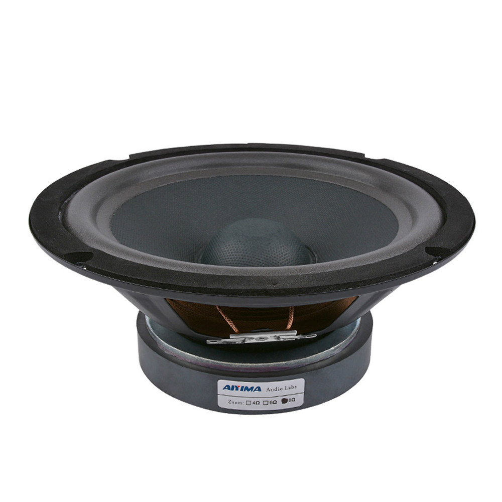 AIYIMA 8 pulgadas intermedios altavoces controlador de sonido de Audio orador Woofer 8Ohm 300W 35 núcleo magnético 120 altavoz de cine en casa