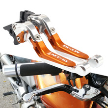 For Yamaha MT10 MT-10 MT 10 2018 2019 CNC Motorcycle Brake Clutch Levers Adjustable Racing Accessories